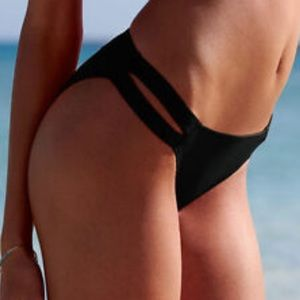 Victoria's Secret double banded bikini bottom